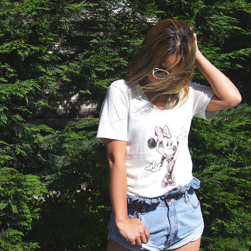 ミニーちゃんTシャツ
