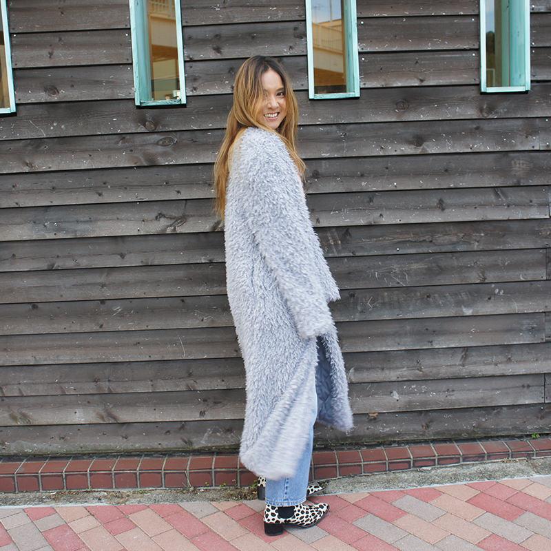 ロング丈コート